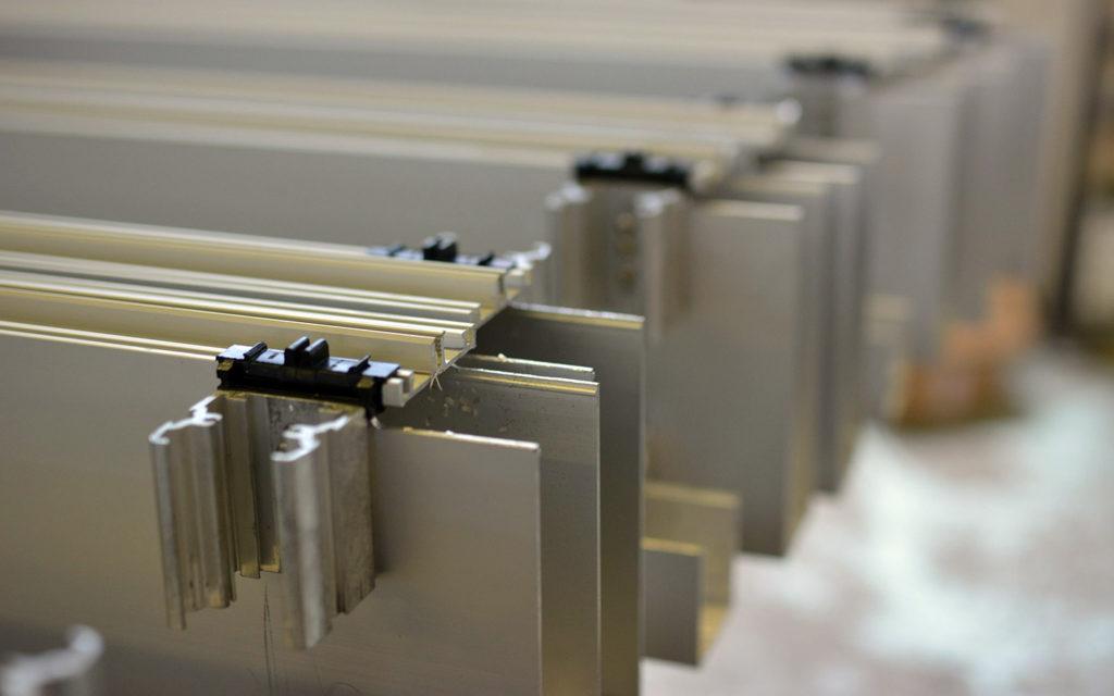 Menuiseries coupe-feu aluminium